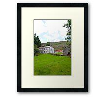 old abandoned Irish farmhouse Framed Print