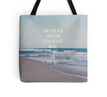 The Cure For Anything Tote Bag
