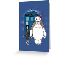 Big Hero Who Greeting Card
