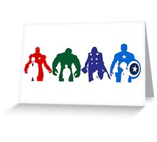 avengers Greeting Card