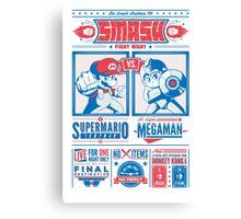 SMASH Fight Night Canvas Print
