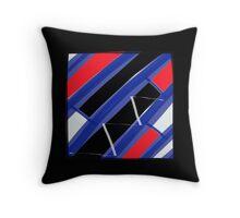 MIDNIGHT BLUES abstract design PILLOW ART Throw Pillow