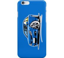 Vauxhall Vectra VXR Blue iPhone Case/Skin