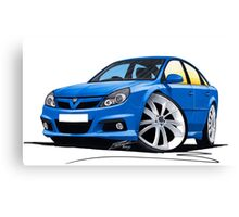 Vauxhall Vectra VXR Blue Canvas Print