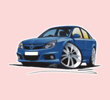 Vauxhall Vectra VXR Blue One Piece - Short Sleeve