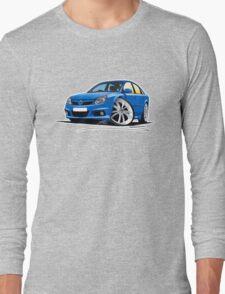 Vauxhall Vectra VXR Blue Long Sleeve T-Shirt