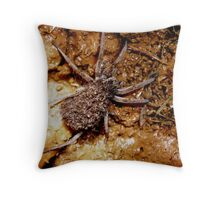 BACK RIDE FOR BABIES. Throw Pillow