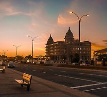 Montevideo Luxury Landmark Hotel Casino Carrasco by DFLC Prints