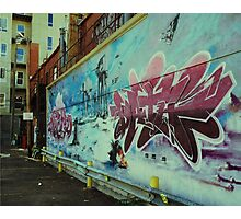Graffiti Wars Photographic Print