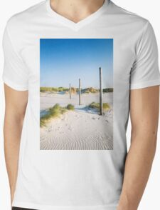 coastal dune Sankt Peter-Ording Mens V-Neck T-Shirt