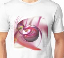 Abstract Red Globe Unisex T-Shirt