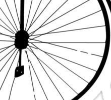 Dyke in bike Sticker
