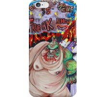 Freak Show - The Sinister Circus iPhone Case/Skin
