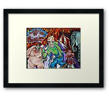 Freak Show - The Sinister Circus Framed Print
