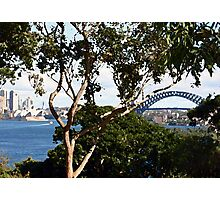 Opera House and Sydney Harbour Bridge Photographic Print