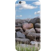 old stone wall in county Kerry Ireland iPhone Case/Skin