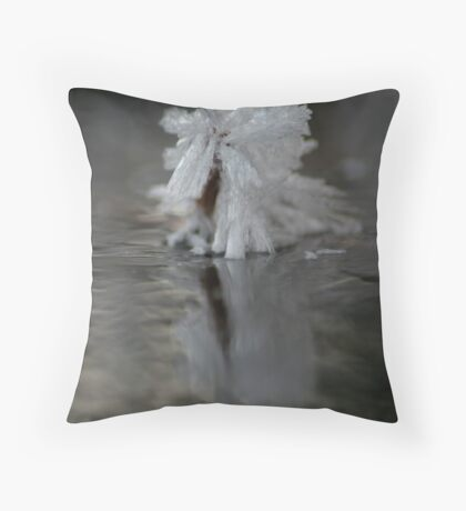 Icey Ice Throw Pillow