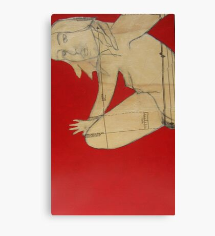 nudeme3 Canvas Print