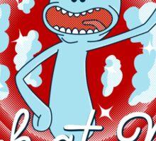 Merrie Mr. Meeseeks - shirt Sticker