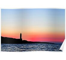 Stoncica Lighthouse Poster
