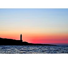 Stoncica Lighthouse Photographic Print