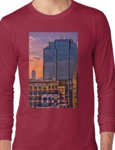 Boston skyscrapers Long Sleeve T-Shirt