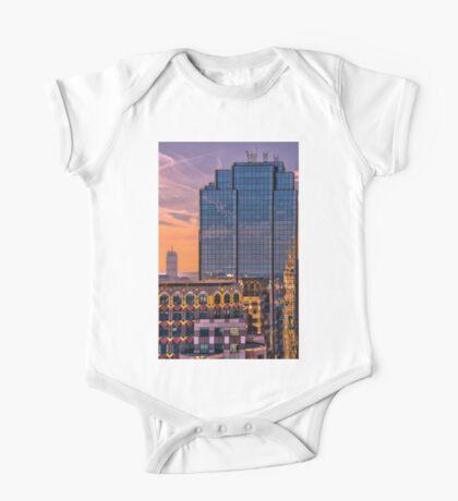 Boston skyscrapers One Piece - Short Sleeve