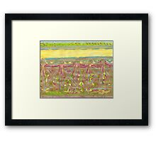 hidden heaven picture - girls rooms  Framed Print