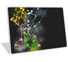 Painting tinkerbell Laptop Skin