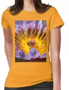 Puny Pollinator Womens Fitted T-Shirt