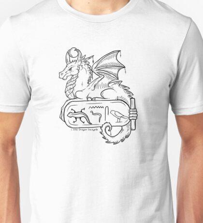 Little Dragon Designs Cartouche Logo Unisex T-Shirt