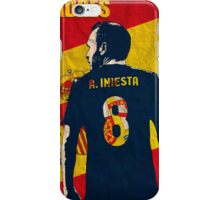 Iniesta  iPhone Case/Skin