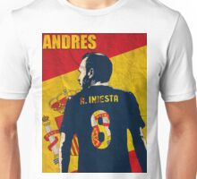 Iniesta  Unisex T-Shirt