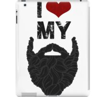 I Love My Beard iPad Case/Skin
