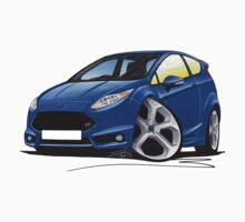 Ford Fiesta (Mk7) ST Blue by Richard Yeomans