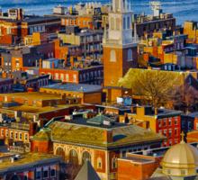 Old North Church , North End, Boston MA Sticker