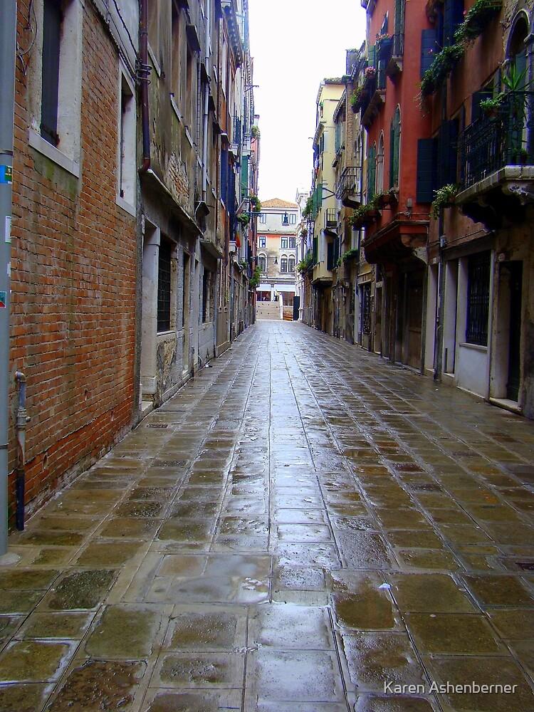 A Street in Venice by Karen Ashenberner