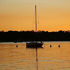 No Sails in The Sunset by bushdrover