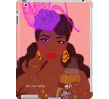 40s and Fascinator Hats iPad Case/Skin