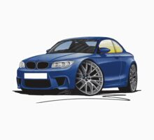 BMW 1M Coupe Blue by Richard Yeomans