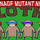 Teenage Mutant Ninja Sloths by ChrisButler