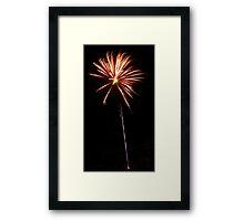 Carol's Fireworks @ Mount Barker Framed Print