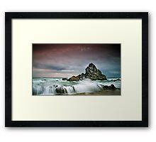 Rocky Seascape Framed Print