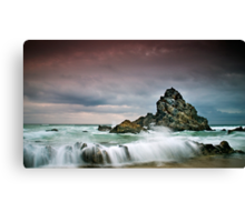 Rocky Seascape Canvas Print