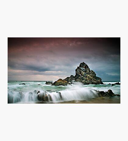 Rocky Seascape Photographic Print
