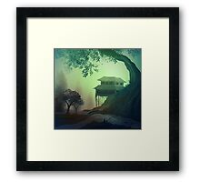 The Fishing Place Framed Print