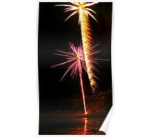 Carol's Fireworks @ Mount Barker 3 Poster