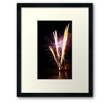 Carol's Fireworks @ Mount Barker 4 Framed Print
