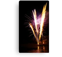 Carol's Fireworks @ Mount Barker 4 Canvas Print