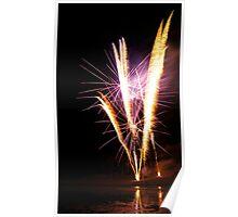 Carol's Fireworks @ Mount Barker 4 Poster
